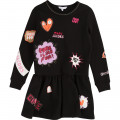 Milano dress with patches LITTLE MARC JACOBS for GIRL