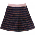 Striped lurex skirt THE MARC JACOBS for GIRL