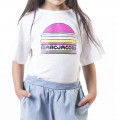 T-shirt with frilled sleeves LITTLE MARC JACOBS for GIRL