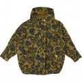 Printed hooded parka LITTLE MARC JACOBS for GIRL