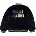 Two-colour reversible jacket LITTLE MARC JACOBS for GIRL