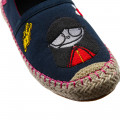 Espadrilles with patches THE MARC JACOBS for GIRL