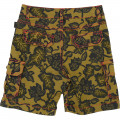 Plant print bermuda shorts THE MARC JACOBS for BOY