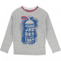 T-shirt with embroidered badges LITTLE MARC JACOBS for BOY