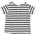 Striped cotton T-shirt ZADIG & VOLTAIRE for UNISEX