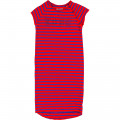 Striped dress with stud motif ZADIG & VOLTAIRE for GIRL