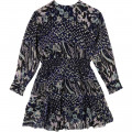 Printed long-sleeved dress ZADIG & VOLTAIRE for GIRL