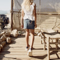 Embroidered pocket denim skirt ZADIG & VOLTAIRE for GIRL