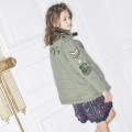 Cotton twill parka ZADIG & VOLTAIRE for GIRL