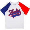 Tricoloured jersey T-shirt ZADIG & VOLTAIRE for BOY
