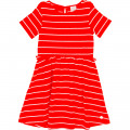 Novelty jersey dress CARREMENT BEAU for GIRL