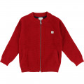 Cardigan with stand-up collar CARREMENT BEAU for BOY