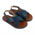Velcro leather sandals CARREMENT BEAU for BOY