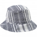 Woven summer hat CARREMENT BEAU for BOY