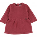 Knitted dress CARREMENT BEAU for GIRL