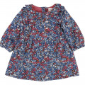 Frilly floral dress CARREMENT BEAU for GIRL