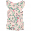 Jersey playsuit CARREMENT BEAU for GIRL