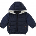 Hooded winter jacket CARREMENT BEAU for BOY