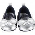 Formal leather ballet flats CARREMENT BEAU for GIRL