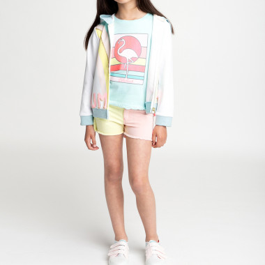 Shorts multicolore in twill BILLIEBLUSH Per BAMBINA