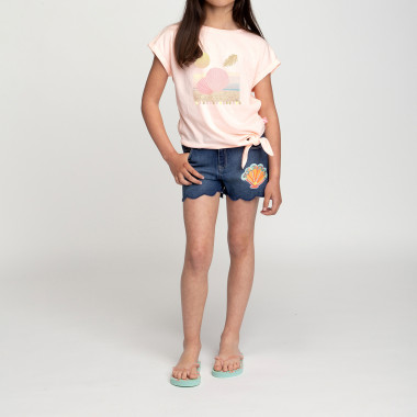 Shorts in denim smerlati BILLIEBLUSH Per BAMBINA