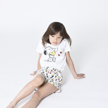 Shorts stampati in felpa THE MARC JACOBS Per BAMBINA