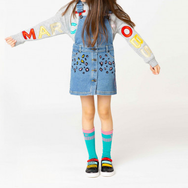 Felpa con patch THE MARC JACOBS Per BAMBINA