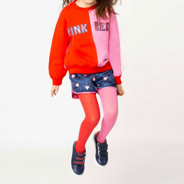 Felpa color block THE MARC JACOBS Per BAMBINA