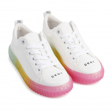 Sneakers stringate DKNY Per BAMBINA