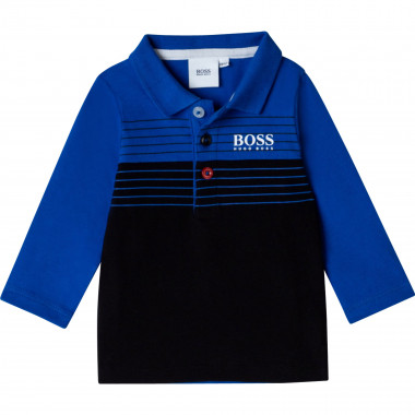 Polo in cotone stretch  Per