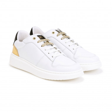 Sneakers basse in pelle BOSS Per BAMBINA