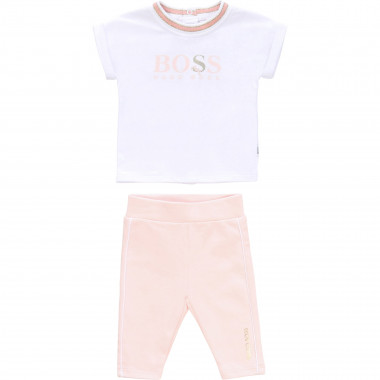 Set T-shirt + legging BOSS Per BAMBINA