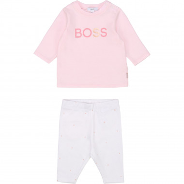 T-shirt e leggings in cotone BOSS Per BAMBINA