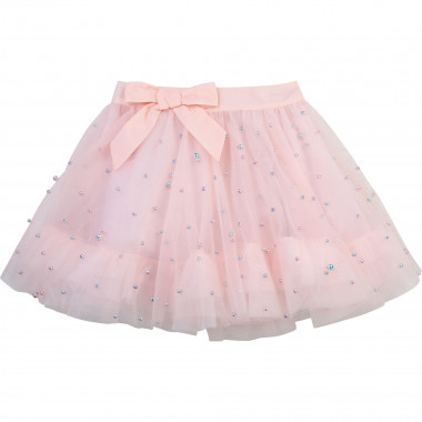 Gonna in tulle con perle CHARABIA Per BAMBINA