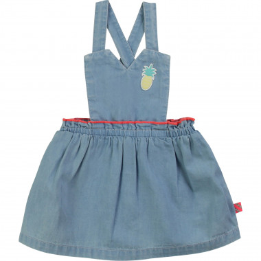 Vestito in denim con toppa BILLIEBLUSH Per BAMBINA