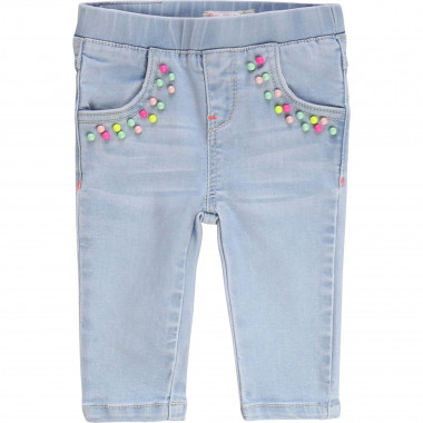 Pantaloni in denim con perline BILLIEBLUSH Per BAMBINA