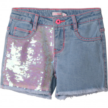 Shorts in denim con paillettes BILLIEBLUSH Per BAMBINA