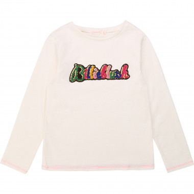 T-shirt in cotone con patch BILLIEBLUSH Per BAMBINA