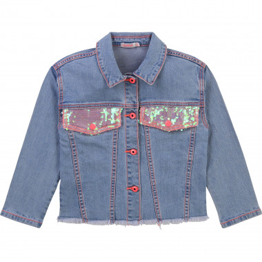 Giacca in denim con paillettes BILLIEBLUSH Per BAMBINA