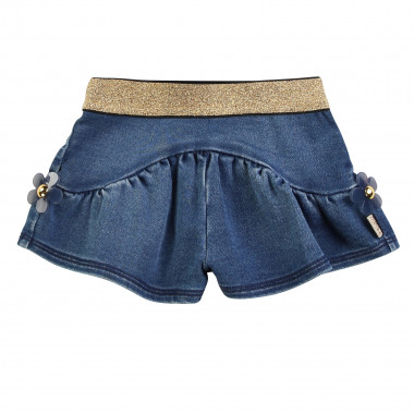 Shorts fluidi in pile denim THE MARC JACOBS Per BAMBINA