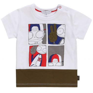T-shirt bicolore stampata THE MARC JACOBS Per RAGAZZO