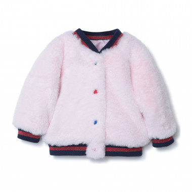Bomber in finta pelliccia THE MARC JACOBS Per BAMBINA