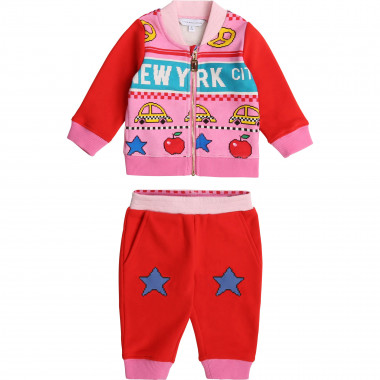 Completo da jogging in felpa THE MARC JACOBS Per BAMBINA