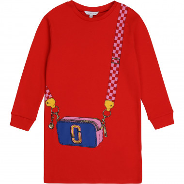 Vestito in cotone interlock THE MARC JACOBS Per BAMBINA