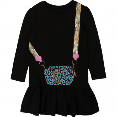Vestito cotone con paillettes THE MARC JACOBS Per BAMBINA