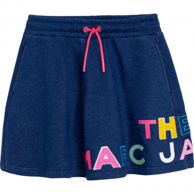 Gonna in pile effetto denim THE MARC JACOBS Per BAMBINA