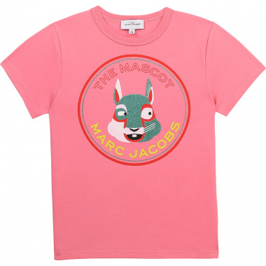T-shirt in cotone biologico THE MARC JACOBS Per BAMBINA