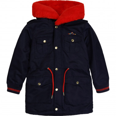 Parka in gabardine THE MARC JACOBS Per BAMBINA