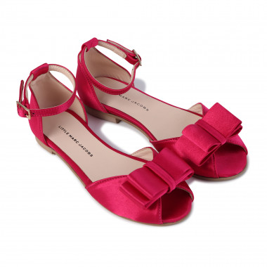 Ballerine in satin THE MARC JACOBS Per BAMBINA
