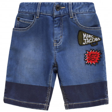 Bermuda in denim THE MARC JACOBS Per RAGAZZO